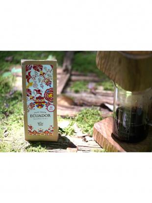 エクアドル産 ちょっとすごいコーヒー 粉を見る