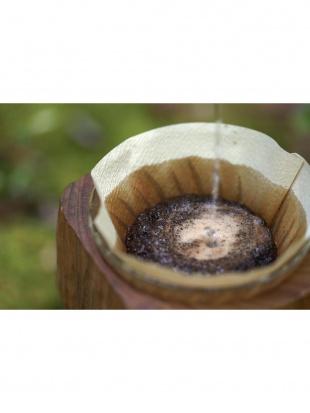 メキシコ産 太陽と森の楽園コーヒー 粉を見る