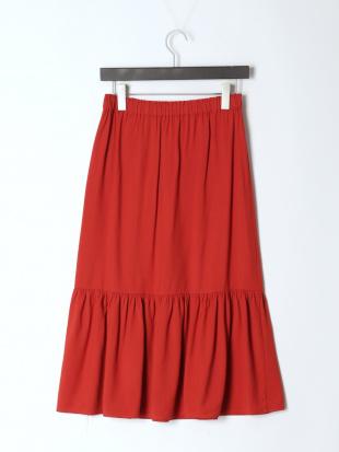 RED TRマーメイドギャザースカートを見る