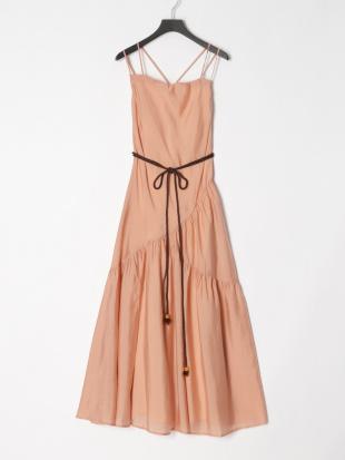 074 Azulic Long Dress Coral PNK Fを見る