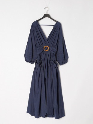 093 Analia Midi Dress NVY Fを見る