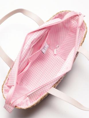 ピンク キティーカゴバッグを見る