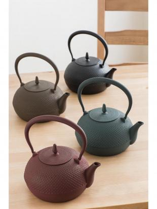 南部鉄瓶 梔子 小 茶を見る