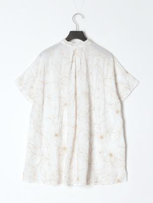 ドリーフラワー刺繡ロングシャツを見る