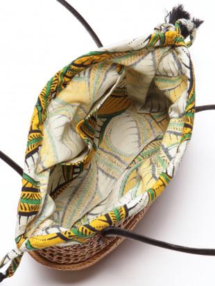 アフリカン柄アタミニバッグを見る