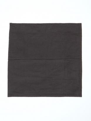 刺繍クッションカバー ブラックを見る