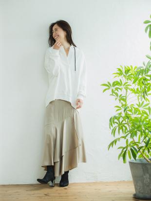 21 ヴィンテージサテンマーメイドスカートを見る