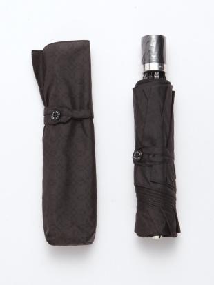 ブラック アンドリューパターンプリント折り畳み傘を見る