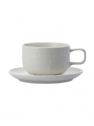 Matte White KNIT CoffeeCup&Saucer 2客セットを見る