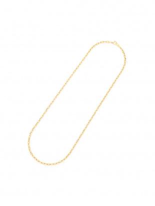 イエローゴールド K18YG アンカー0.8チェーン ネックレスを見る