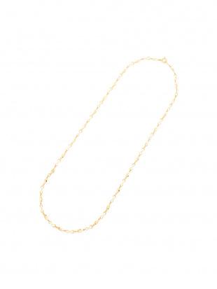 イエローゴールド K18YG メビウスチェーン ネックレスを見る