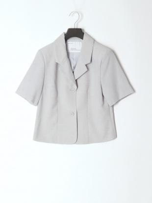 サックス tailored jacket &pleats skirtを見る