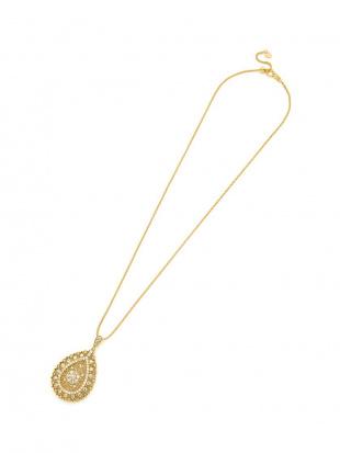イエローゴールド K18YG  ダイヤモンド2.00ct ネックレス50cm(スライドアジャスター)を見る