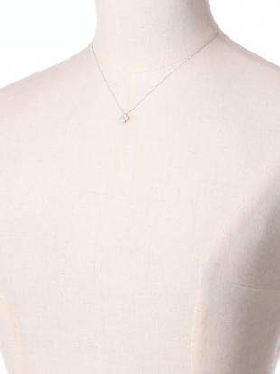 ホワイトゴールド K18WG ダイヤ 0.30ct ネックレス 40cmを見る