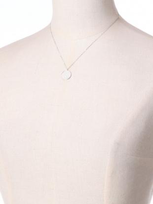 ホワイトゴールド K18WG ダイヤ 0.50ct ネックレス 40cmを見る