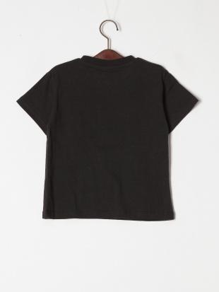 ブラック 4柄サガラワッペンTシャツを見る