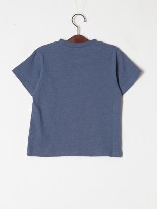ブルー 4柄サガラワッペンTシャツを見る