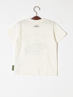 オフホワイト ブルドッグパッチワークTシャツを見る