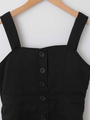 ブラック [100-130]フロントボタンジャンパースカート[WEB限定サイズ] a.v.v bout de chouを見る