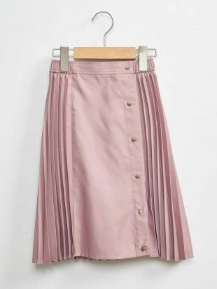 ピンク [100-130]キリカエサテンプリーツスカート[WEB限定サイズ] a.v.v bout de chouを見る
