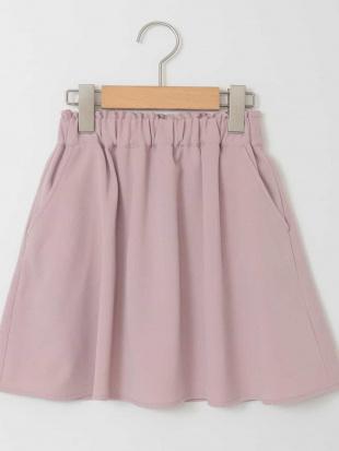 ピンク [100-130]インナーパンツ付きギャザースカート[WEB限定サイズ] a.v.v bout de chouを見る