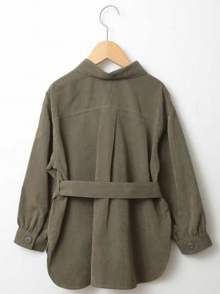 カーキ [140-150]CPOシャツジャケット a.v.v bout de chouを見る