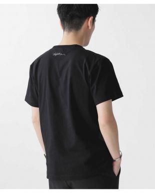 ブラック [着るアート] CHERYL DUNN フォトTシャツ 1 ナノ・ユニバースメンズ(オリジナル)を見る