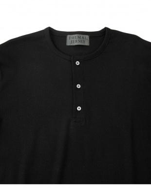 ベージュ FORMAL JERSEY ヘンリーネックシャツ S/S ナノ・ユニバースメンズ(オリジナル)を見る