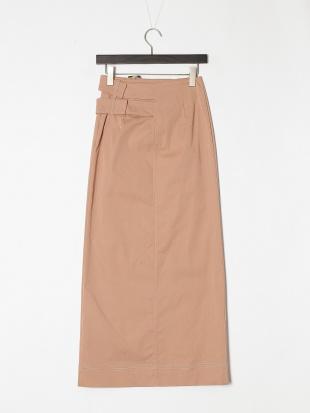 PINK ステッチポイントストレートスカートを見る