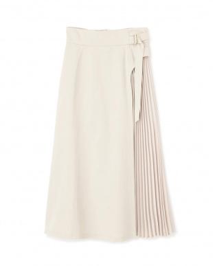 ホワイト サイドプリーツスカート Jill by Jill リプロを見る