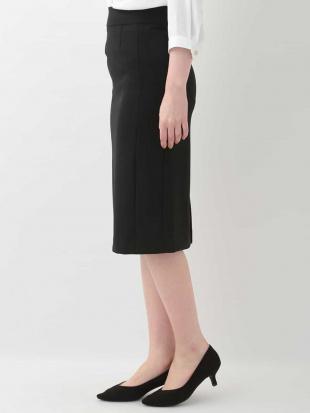 ブラック 【洗える】ジャージータイトスカート OFUONを見る