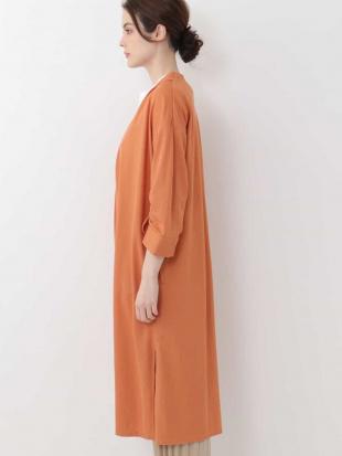 オレンジ 【洗える】サマーロングライトコート OFUONを見る