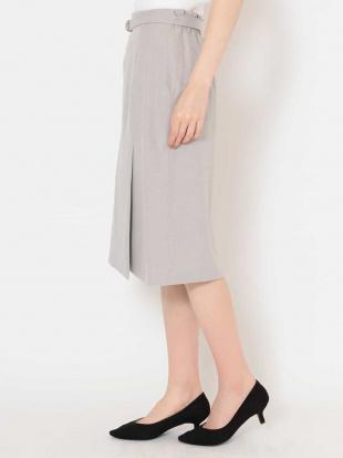 ライトグレー 【洗える】サイドベンツタイトスカート OFUONを見る