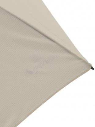 ベージュ ストライプ 折りたたみ傘 【WOMEN】を見る