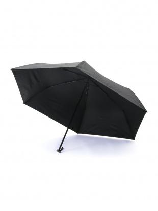 グレー ストライプ 折りたたみ傘 【MEN】を見る