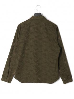 カーキグリーン Jacqard Shirt 長袖シャツを見る