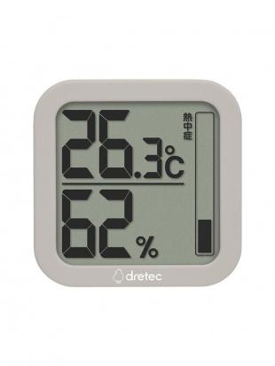 ベージュ デジタル温湿度計 ルフト2個セットを見る