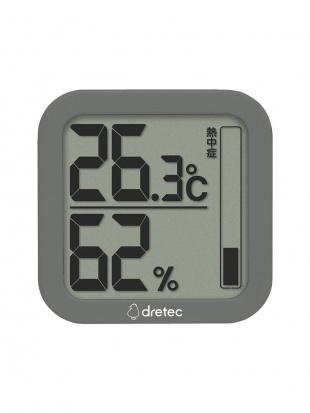 ブラック デジタル温湿度計 ルフト2個セットを見る