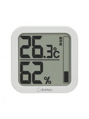 ホワイト デジタル温湿度計 ルフト2個セットを見る
