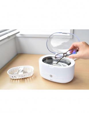 ホワイト 超音波洗浄器ソニクリアを見る