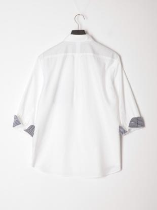 シロ ハンドステッチシャツ七分袖を見る