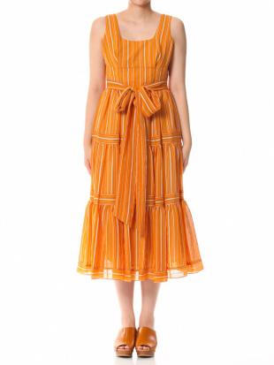 092 Andrea Striped Dress BLUを見る