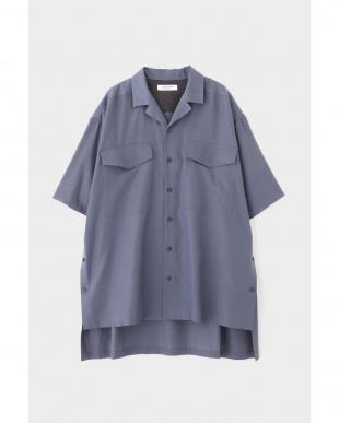 グレー FOR GENDER FREE キュプラツイルシャツ ELE STOLYOFを見る