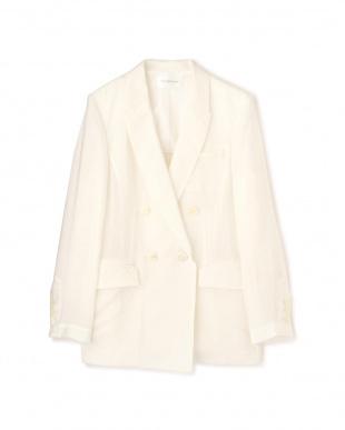 ホワイト ◆ダブルブレストシアージャケット PINKY & DIANNEを見る