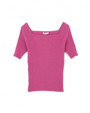 ピンク ◆カラーRIB TOPS PINKY & DIANNEを見る