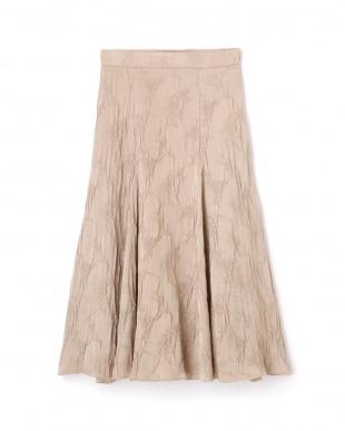 BLUSH フラワーシュリンクサテンスカート ジルスチュアートライセンスを見る