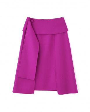 ピンク ライトリバー台形スカート アドーアを見る