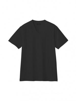ブラック VネックTシャツ×3点SETを見る