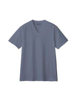 スモークブルー VネックTシャツ×3点SETを見る