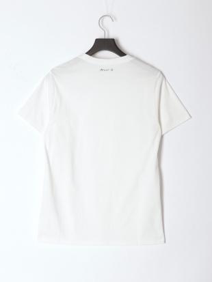 WHITE × WHITE メンズアーチロゴ半袖Teeを見る